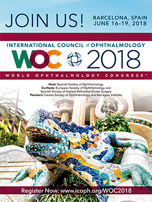 Noticia - 35th World Ophthalmology Congress 2018